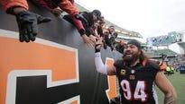 Domata Peko says his goodbye to Cincinnati