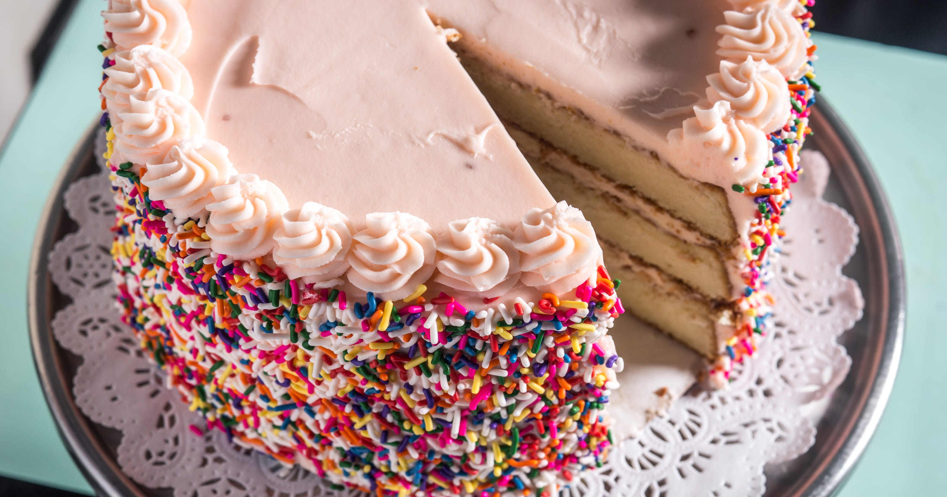Birthday Cake Flavored Desserts Across America
