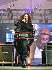 "'Weird Al'"" Yankovic performs at the Governors Ball Music Festival in New York last year."