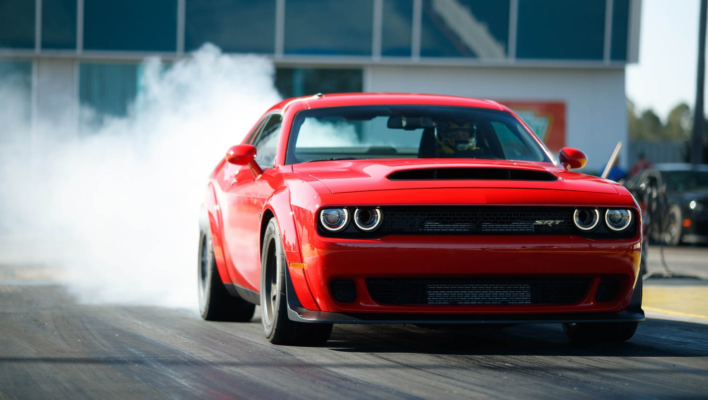 These specs on the 2018 dodge demon are ridiculous and awesome buycottarizona