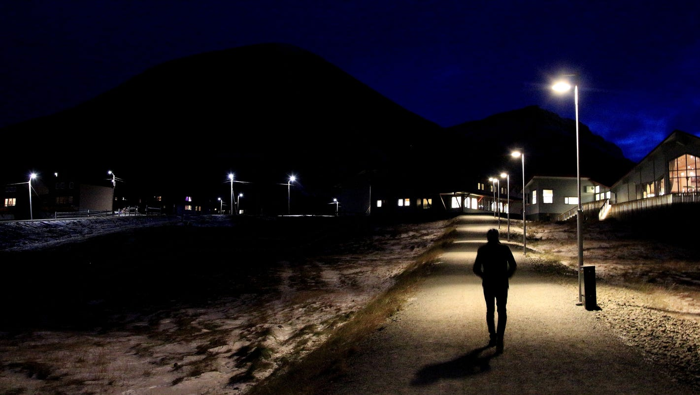 In Norway, the most northerly town in the world at risk of disappearing