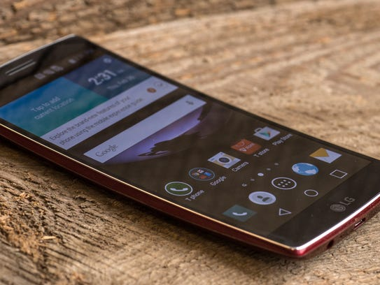 LG's curved phone is a beautiful oddity.