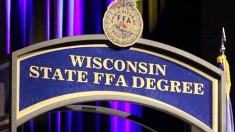 The Wisconsin State FFA Degree is the highest degree that FFA members can earn on the state level.