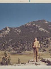 By the roadside in Colorado, Sept. 1967. Sam Schaumann