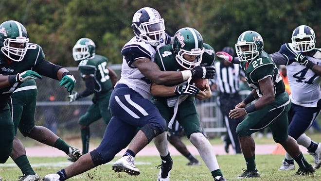JSU defensive end Javancy Jones, pictured here against Mississippi Valley State, was named SWAC Defensive Player of the Week on Monday.