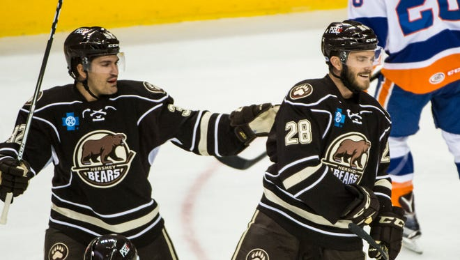 The Hershey Bears came within 64 seconds of a three-game sweep last week.