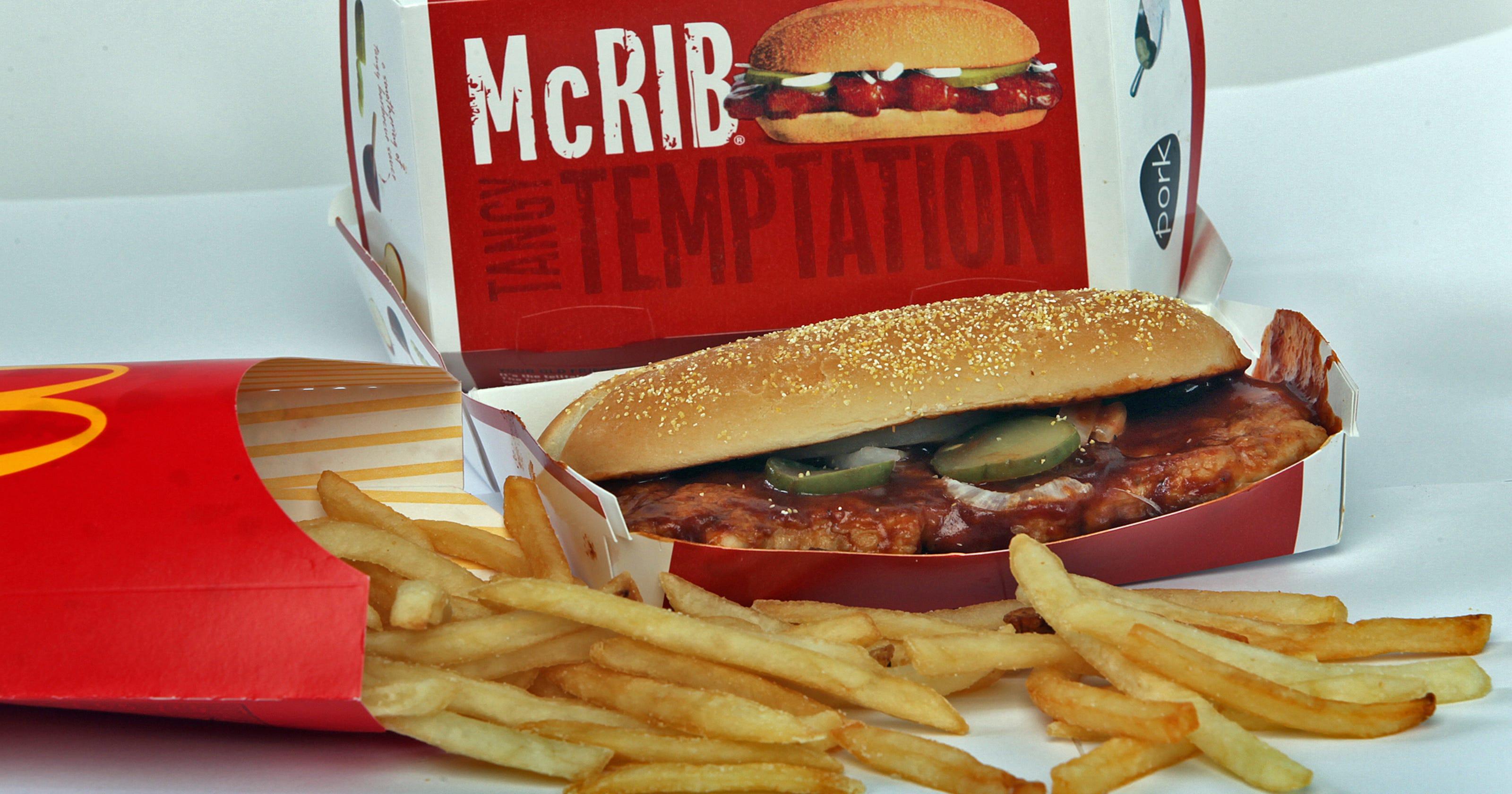 mcdonalds mc mcrib mcdonalds - HD3200×1680