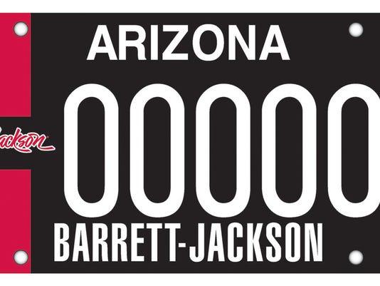 ADOT Barrett-Jackson plate