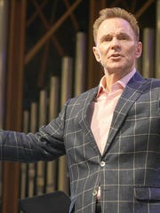 Ronnie Floyd, shown here in a file photo, was elected Tuesday to be the president of the Southern Baptist Convention's Executive Committee. The Protestant denomination, the largest in the U.S., is based in Nashville.