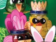 Repurpose Small Jars For Easter Treat