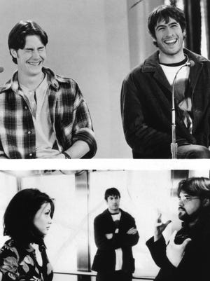 """Jeremy London, left, and Jason Lee in a scene from """"Mallrats."""" London will be on hand for a screening of the film Friday during the '90s Night presented by Pensacon and Vinyl Mysic Hall."""