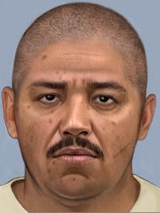 """An artist's rendering shows how Eduardo """"Tablas"""" Ravelo, who is on the FBI's 10 Most Wanted list, might currently appear."""