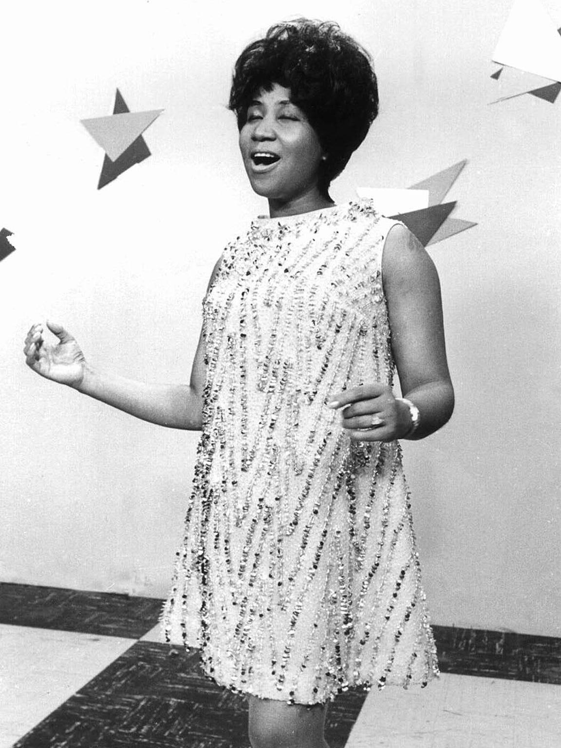 Aretha Franklin's pop music recording career began