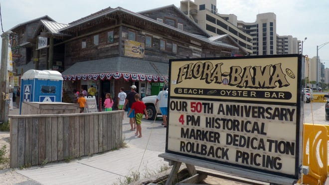 The Flora-Bama Lounge and Package is celebrating its 50th anniversary this weekend, complete with a historical marker to commemorate its founding in 1964.