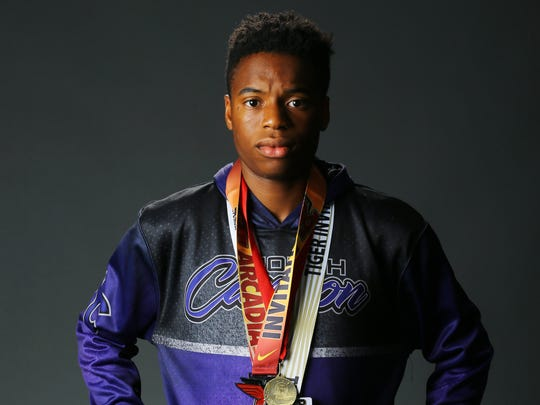 Tyrees Moulton, a senior track runner from Phoenix
