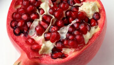 Cross-Section of Pomegranate
