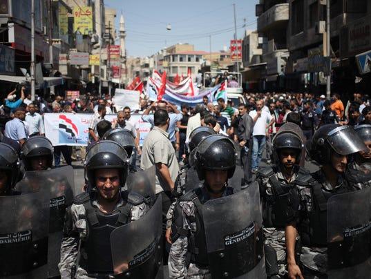 AP Mideast Jordan Syria Crisis