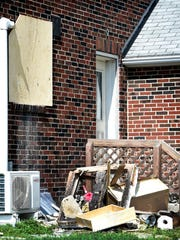Spontaneous combustion of oily rags was blamed for a fire that caused substantial damage to the kitchen at 110 S. Forge Road in Palmyra on Friday, Aug. 16.