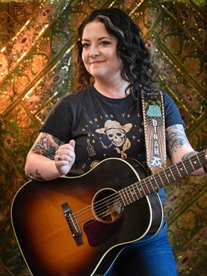 """Country singer Ashley McBryde will release her major label debut album, """"Girl Going Nowhere,"""" on March 30."""