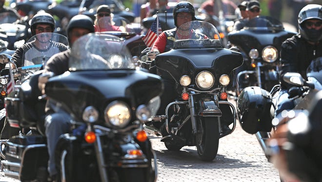May is Motorcycle Safety Awareness Month, and motorists are encouraged to be aware that motorcycles are back out on the road.