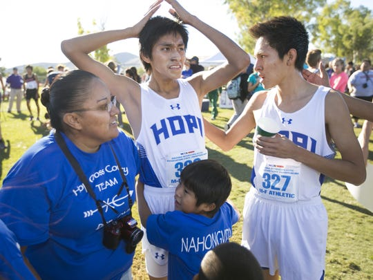 Hopi boys cross country is a finalist for the 2016 Arizona Sports Awards Best Record-Breaking Performance Award.