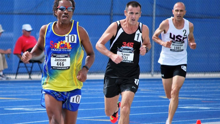David Jackson won two bronze medals at the masters track meet.
