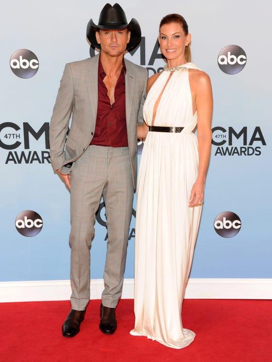AP 2013 CMA Awards - Arrivals