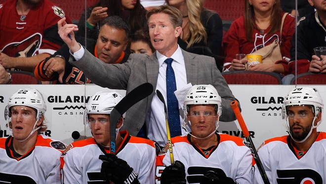 Flyers coach Dave Hakstol says even though some decisions are unpopular, they serve a greater purpose.