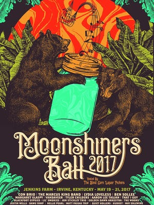 The 2017 Moonshiner's Ball in Irvine, Kentucky has announced its full line-up.