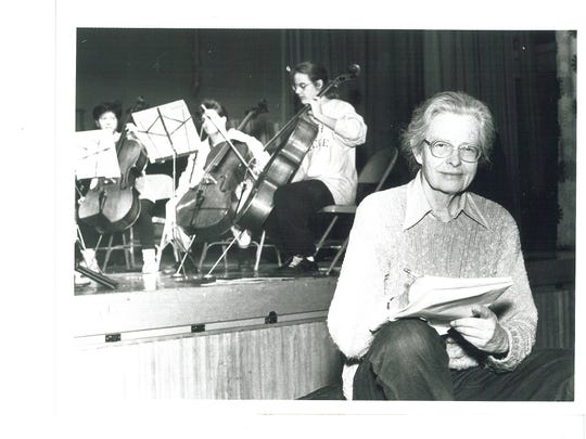 Carolyn Long guided the Vermont Youth Orchestra from its early days more than half a century ago to become an organization with more than 300 student musicians in grades 1 through 12.