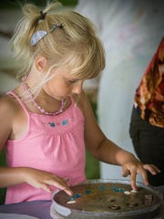 Among the art-making activities at Midsummer Festival