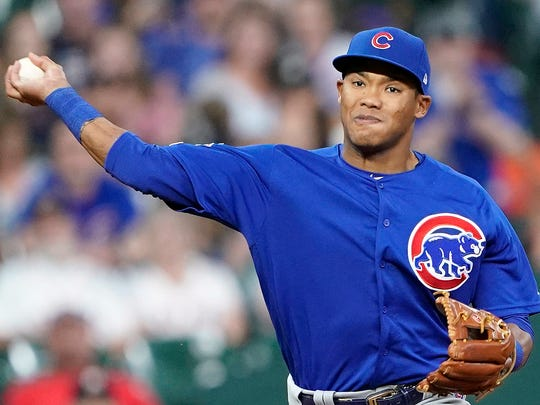 Addison Russell on May 29, 2019.