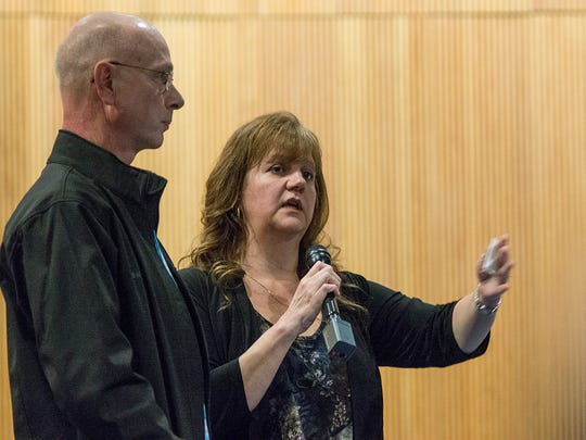 Ann and Richard Staslicki talk about their missing