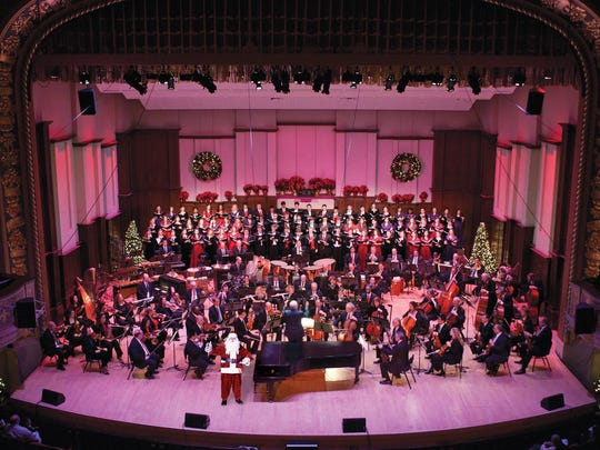 "The Detroit Symphony Orchestra's ""Home for the Holidays"" concerts are Friday-Sunday."