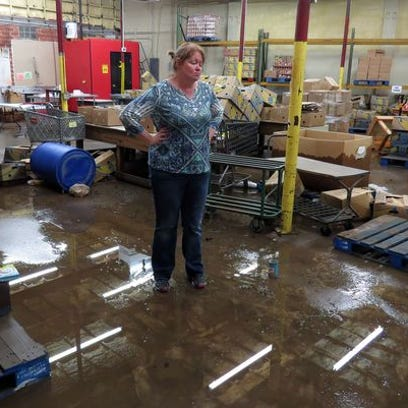 In this file photo from April, Manna Food Pantry Executive