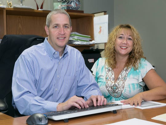 Derick and Kerri Buckley are partners in the Buckley Insurance Group on Route 88 in Brick.