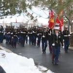 Military, faith communities honor decorated Reno Marine