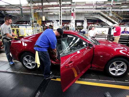 2016 Camaro Rolls Off Production Line At Lansing Assembly Plant