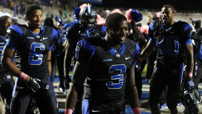 MTSU will host Western Kentucky in its annual blackout game at 6 p.m. on Saturday at Floyd Stadium. During last year's blackout game, the Blue Raiders defeated Marshall on the game's final play.