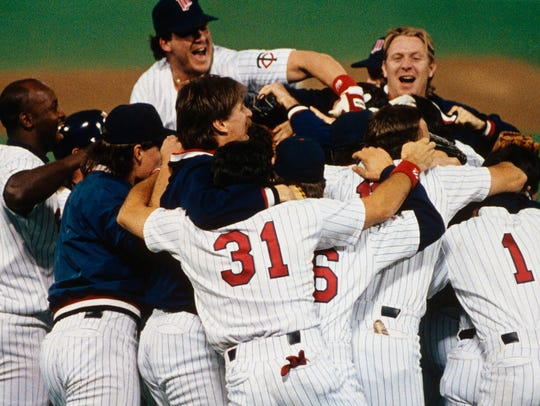 After winning the 1991 World Series, the Twins didn't