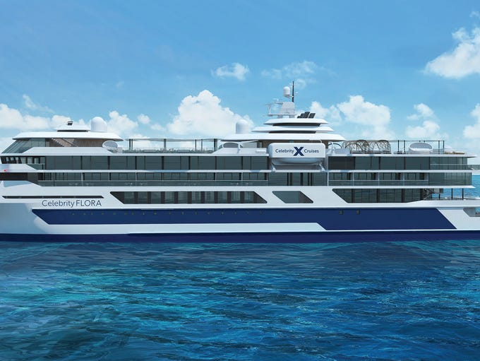 Celebrity Cruises plans a new, upscale ship for the