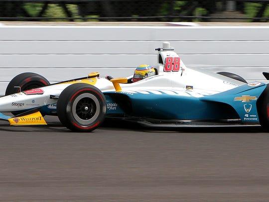 Row 8, starting 22nd: Harding Racing IndyCar driver