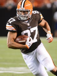 August 30, 2012; Cleveland, OH USA: Cleveland Browns