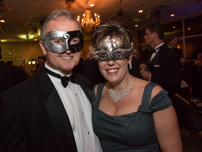 The Krewe of Seville held its 2017 Masquerade Mardi