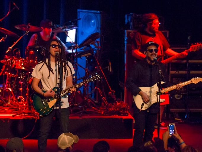 Tribal Seeds performs at Vinyl Music Hall Friday night.