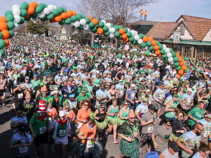 Thousands of people participate in the 40th annual