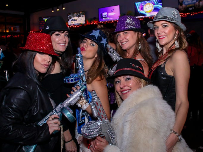 The ladies of the Mystic Mafia celebrate the Mardi