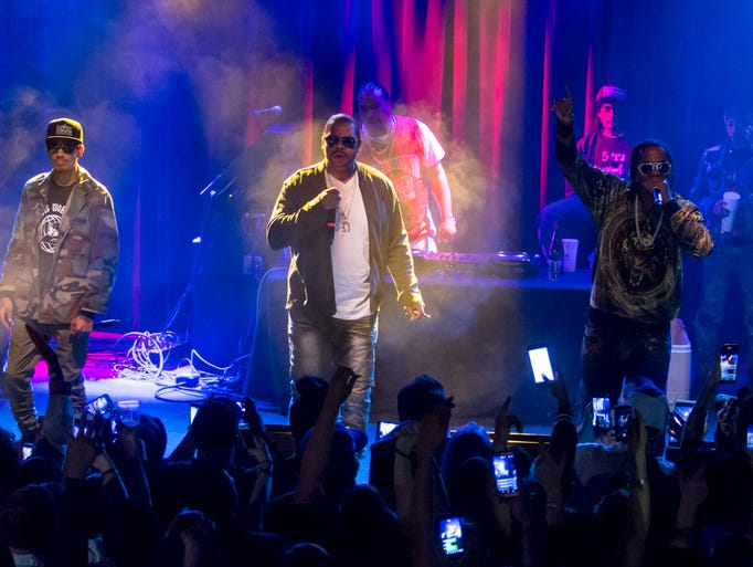 Bone Thugs-N-Harmony headline a packed show at Vinyl