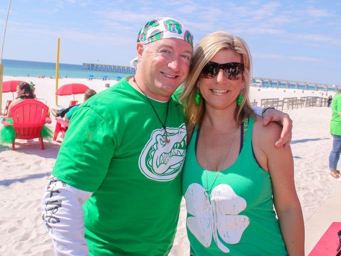 St Patrick S Day Pub Crawl On Pensacola Beach