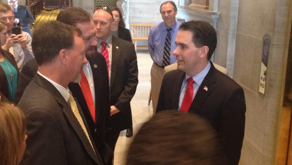 Likely GOP presidential contender and Wisconsin Gov.